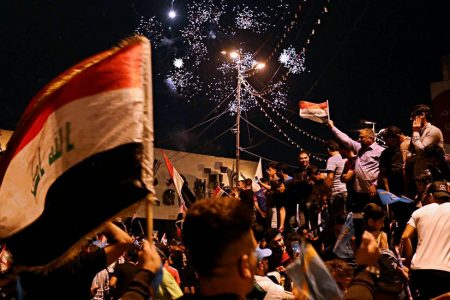 Iraqi Voters Strengthen Hand of Militia Leader Who Battled US