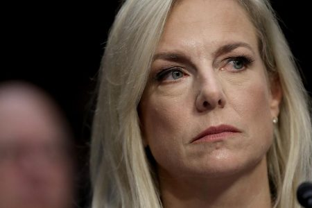 DHS secretary pushes back on assessment that Russia meddled to help Trump