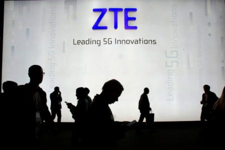 China's ZTE says main operations have ceased after US ban