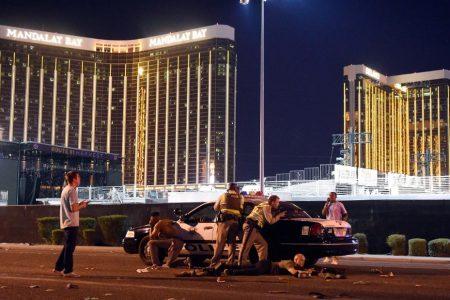 Bodycam video captures tense moments as police entered Las Vegas gunman's suite