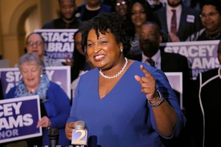 Why Democratic presidential prospects are rushing to back Georgia's Stacey Abrams