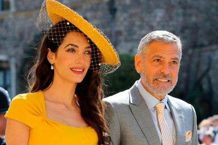 Sculptural hats and fascinators on show at the royal wedding