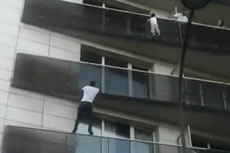 'Spiderman' granted French citizenship after rescuing child from Paris balcony