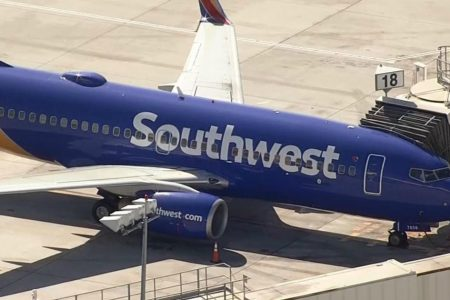 Southwest Flight 1250 makes emergency landing in San Jose, authorities say