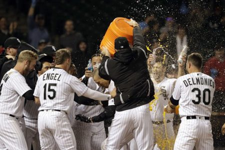 Thompson hits game-ending homer as White Sox beat Twins 6-5
