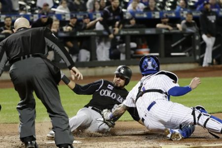 Bettis pitches Rockies to 2-0 win over slumping Mets