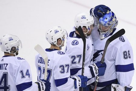 Vasilevskiy turns East final around for Lightning