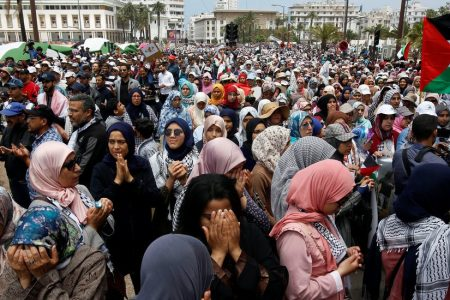 Over 10000 Moroccans Protest US Embassy Move to Jerusalem