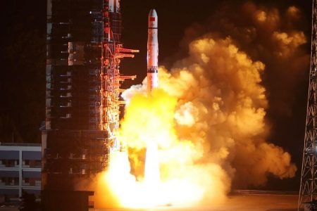 As America Looks Inward, China Looks to Outer Space