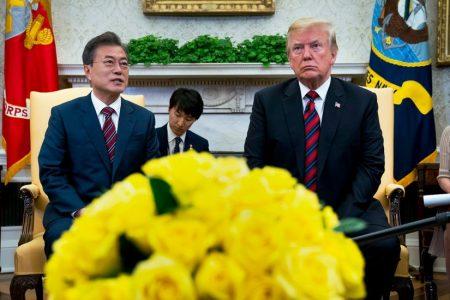 Trump Backs Away From Demand for Immediate North Korean Denuclearization