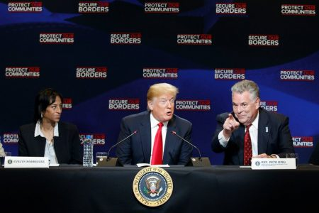 Trump, Visiting Epicenter of MS-13 Killings, Demands Tougher Immigration Laws