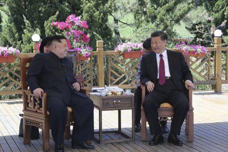 North Korean leader Kim Jong Un meets Chinese President Xi, again