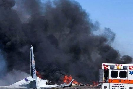 Puerto Rican airmen identified after C-130 crash kills 9 in Georgia