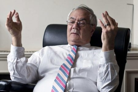 A lot of people heard what Barney Frank said about the new banking law. Few knew he works for a bank.