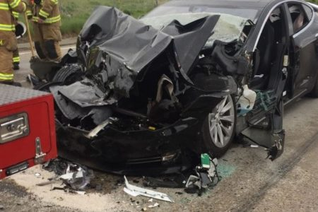 Tesla data confirms Utah crash details, NHTSA investigating