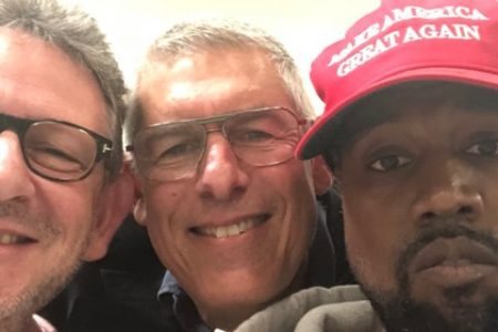 Kanye West explains what he finds most 'inspiring' about Trump in a new video