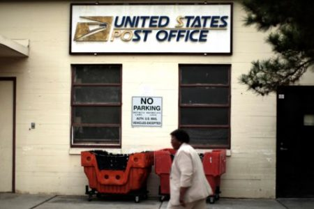 US Postal Service gets whacked with a $1.3 billion loss as it struggles to keep up with Amazon