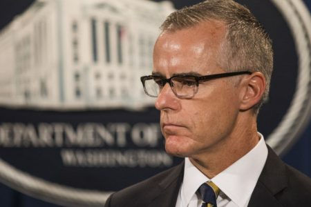 McCabe memo: Trump asked Rosenstein to mention Russia in Comey firing