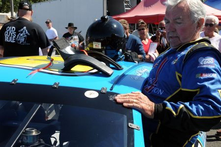 Hershel McGriff, 90, becomes oldest to compete in NASCAR-sanctioned race