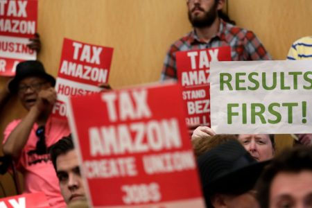 Amazon's fight with Seattle over head tax foreshadows battles to come in other cities