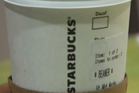 Starbucks hit by racism again: Latino customer says drink came with racial slur on cup