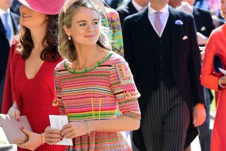Still friends! Prince Harry's ex-girlfriends Chelsy Davy, Cressida Bonas attend wedding