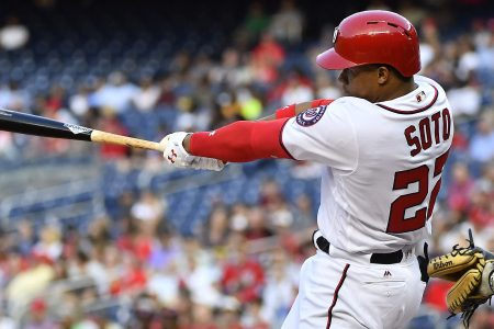 Nationals phenom Juan Soto homers in first at-bat as starter