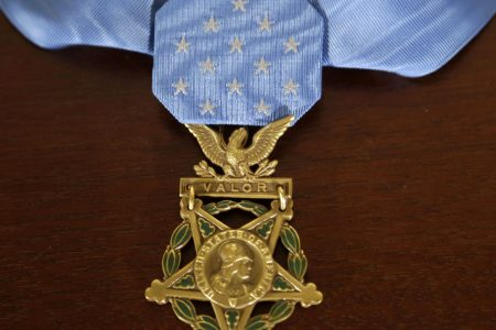 President Donald Trump awards Navy SEAL the Medal of Honor for fight against al-Qaeda