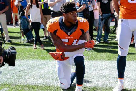 Broncos' Brandon Marshall calls President Trump's national anthem remarks 'disgusting'