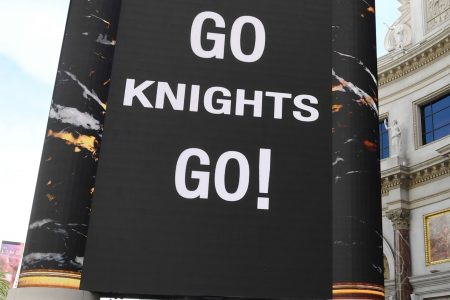 City of Las Vegas 'bans' capital letters to support Golden Knights in Stanley Cup vs. Capitals