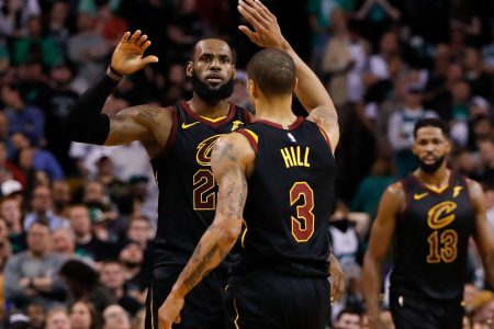 Now teammates, LeBron James' former playoff opponents recall terror he inflicted on East