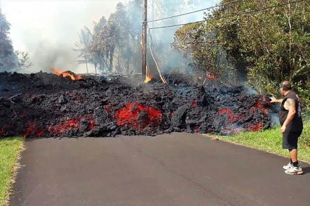 'Pele's the boss': Hawaii residents ride out uncertainty as lava spews from new Big Island fissures