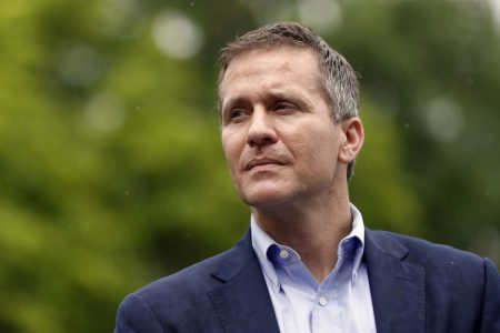 Embattled Missouri Gov. Eric Greitens says he will resign
