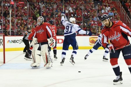 Lightning-Capitals Game 3: Bolts surge to 4-1 lead and are awake in this series