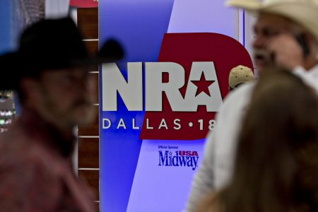 As host to NRA meeting, Dallas becomes epicenter of the nation's gun debate