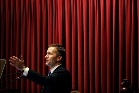 Eric Greitens used Trump's playbook to try to beat scandal. It didn't work.