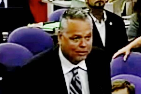 Deputy vilified for staying outside during Parkland massacre gets $100000 annual pension