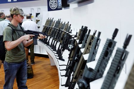 Inside the NRA's annual meeting: Guns, ammunition, family and politics