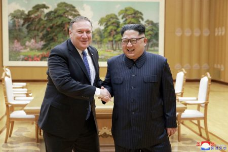 Pompeo says US assuring Kim that it does not seek his overthrow