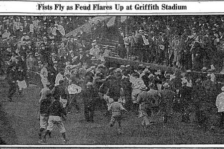 The Yankees-Nats rivalry was once so fierce it required a police riot squad