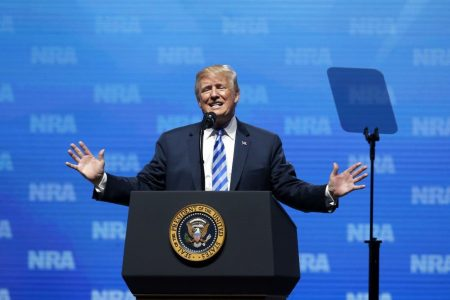 Trump's comments about gun laws in Britain and France prompt anger and rebukes