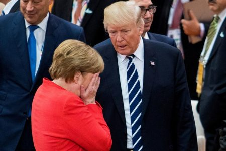After Obama, an emotional Merkel vowed to defend the liberal world order against Trump, book claims