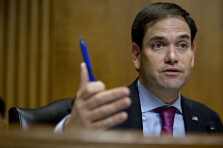 Marco Rubio just went way off message on the GOP tax cuts — and conservatives are furious