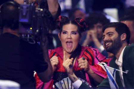 The Latest: Last performance concludes at Eurovision