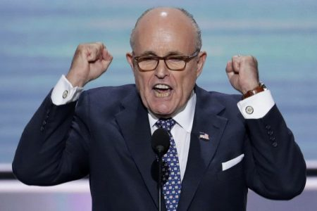 Rudy Giuliani's first three weeks on the job, in two minutes