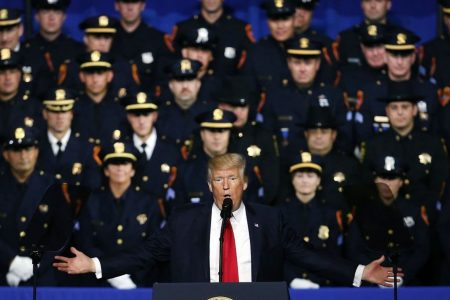 The slippery slope of the Trump administration's political embrace of calling MS-13 'animals'