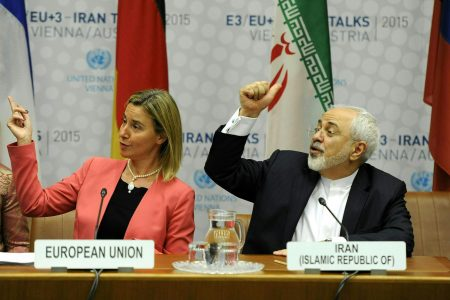 The Latest: German industry group: US Iran call is illegal