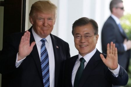 Trump, South Korean leader commiserate over upcoming summit