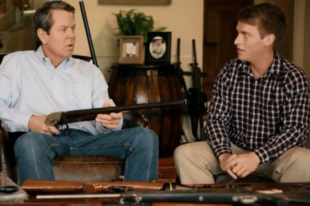 This Republican Politician Jokingly Threatens a Teen With a Gun in His New Campaign Ad