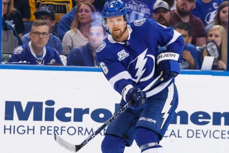Stralman, Paquette will play for Lightning against Capitals in Game 2